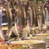 北海道洞爺湖サンパレス旅行記④夕食ビュッフェ(バイキング)が素晴らしい!